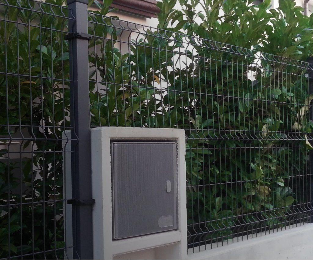 Забор из сетки гиттер под ключ